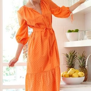 MDS Stripes Garden belted dress NWT, pristine!